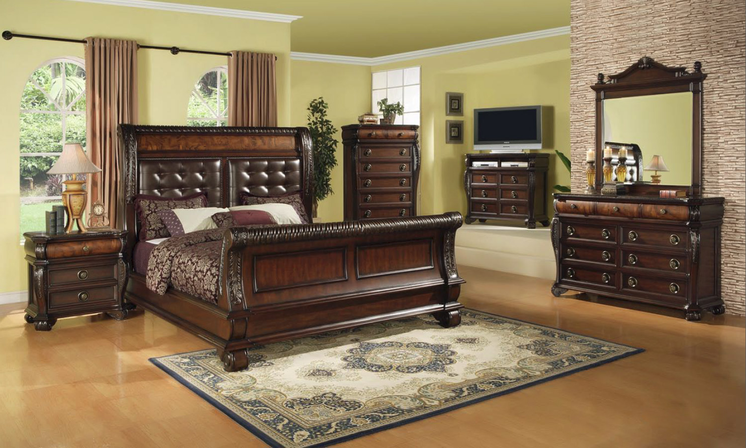 Bedroom Sets Victoria Bc 7 piece bedroom set queen ~ cryp